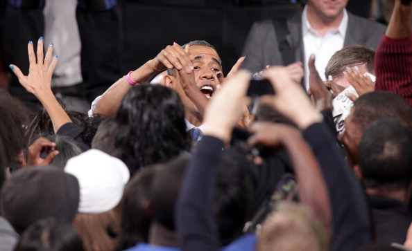 Florida - US State「Obama Rallies Supporters In Battleground State Of Nevada」:写真・画像(14)[壁紙.com]