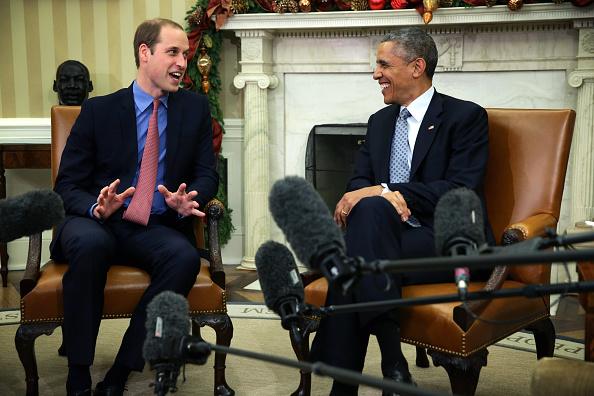 William S「The Duke Of Cambridge Meets With U.S. President Barack Obama」:写真・画像(12)[壁紙.com]
