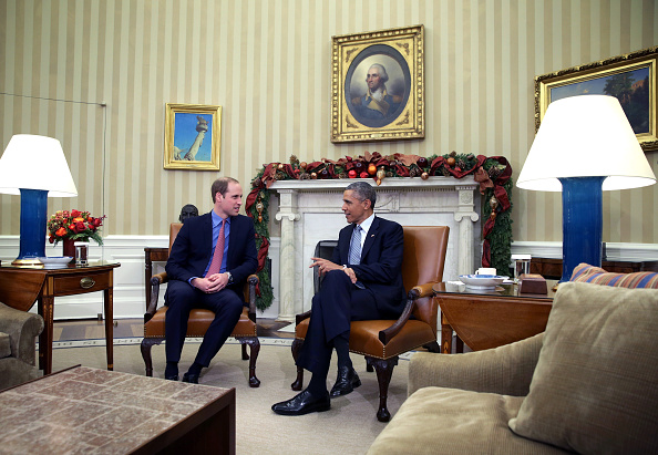 William S「The Duke Of Cambridge Meets With U.S. President Barack Obama」:写真・画像(18)[壁紙.com]