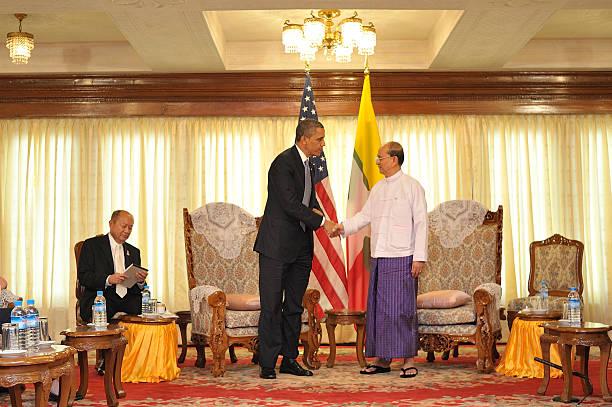 US President Obama Makes Historic Visit To Burma:ニュース(壁紙.com)