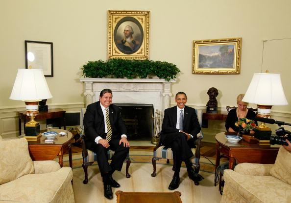Alex Wong「Obama Meets With Peruvian President Alan Garcia」:写真・画像(12)[壁紙.com]