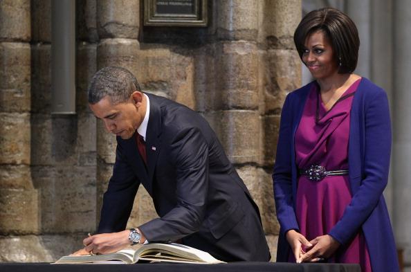 Signing Event「US President Barack Obama Visits The UK - Day One」:写真・画像(8)[壁紙.com]