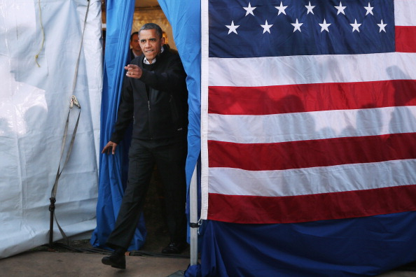 Washington Park「President Obama Continues His Push Through Key Swing States In Final Days Before Election」:写真・画像(5)[壁紙.com]