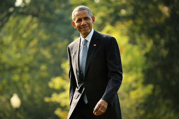 Smiling「President Obama Returns To The White House」:写真・画像(0)[壁紙.com]