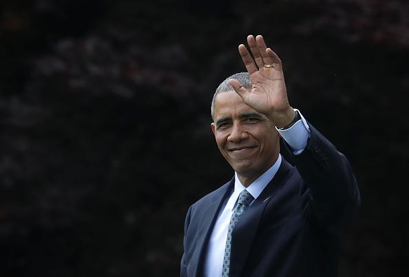笑顔「President Obama Departs The White House En Route To Illinois」:写真・画像(7)[壁紙.com]