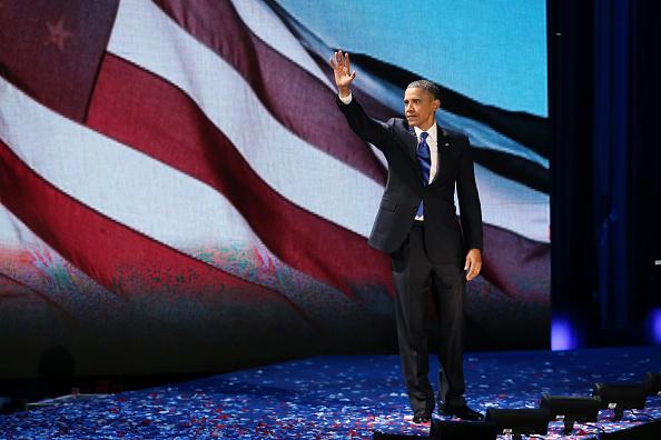 成功「President Obama Holds Election Night Event In Chicago」:写真・画像(12)[壁紙.com]