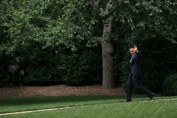 Florida - US State「Obama Departs White House For 2-Day Florida Campaign Swing」:写真・画像(8)[壁紙.com]
