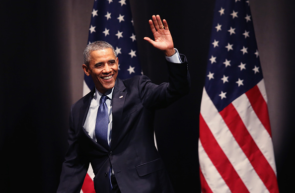 Speech「President Obama Delivers Address On Economy At Northwestern University」:写真・画像(15)[壁紙.com]