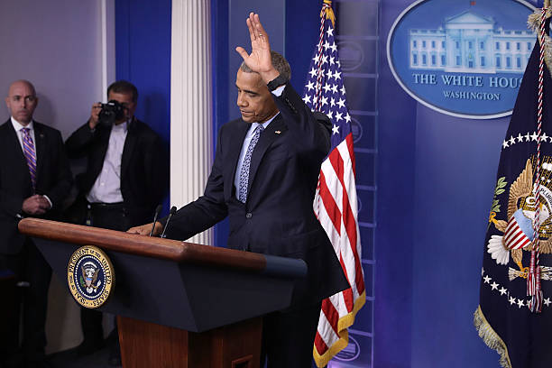 President Obama Holds Final News Conference At The White House:ニュース(壁紙.com)