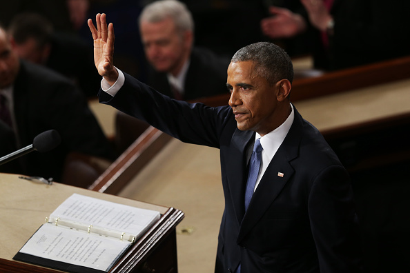 Alex Wong「President Obama Delivers State Of The Union Address」:写真・画像(15)[壁紙.com]