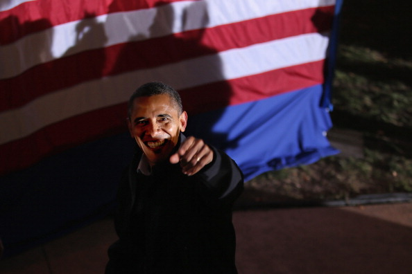 Oregon - US State「President Obama Continues His Push Through Key Swing States In Final Days Before Election」:写真・画像(17)[壁紙.com]