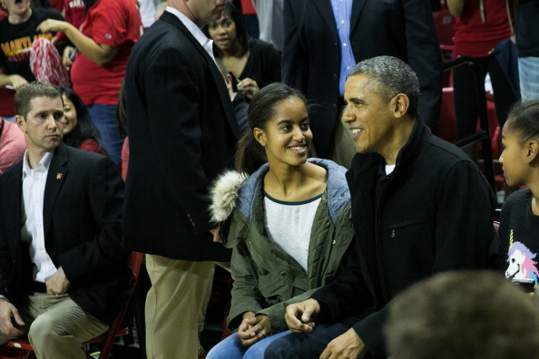 Oregon - US State「The Obama Family Watches U. Maryland v. Oregon State Basketball Game」:写真・画像(17)[壁紙.com]