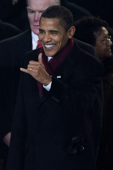 Hand Sign「Barack Obama Is Sworn In As 44th President Of The United States」:写真・画像(8)[壁紙.com]
