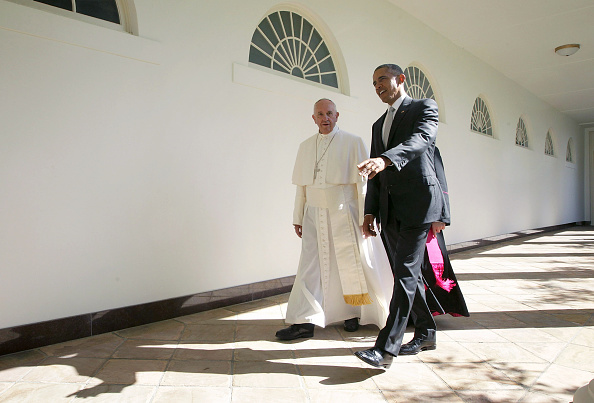 Religion「Pope Francis Meets President Obama At The White House」:写真・画像(10)[壁紙.com]