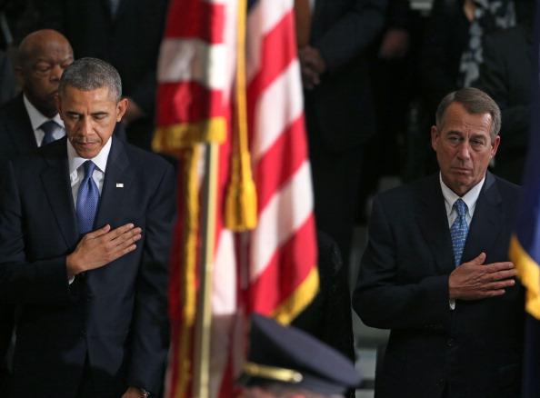 Speaker of the House「Congressional Memorial Service Honoring Life Of Former House Speaker Tom Foley Held On Capitol Hill」:写真・画像(15)[壁紙.com]