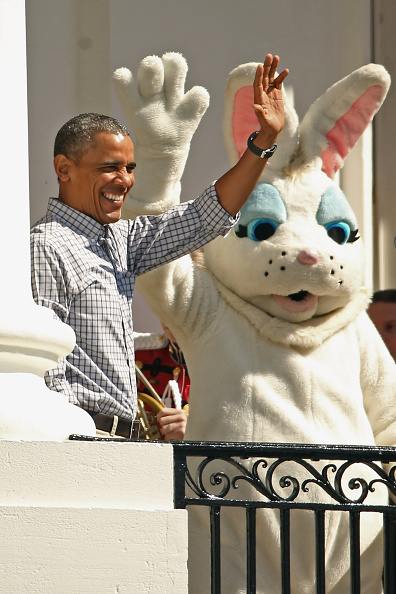 Easter Bunny「White House Hosts Annual Easter Egg Roll On The South Lawn」:写真・画像(14)[壁紙.com]