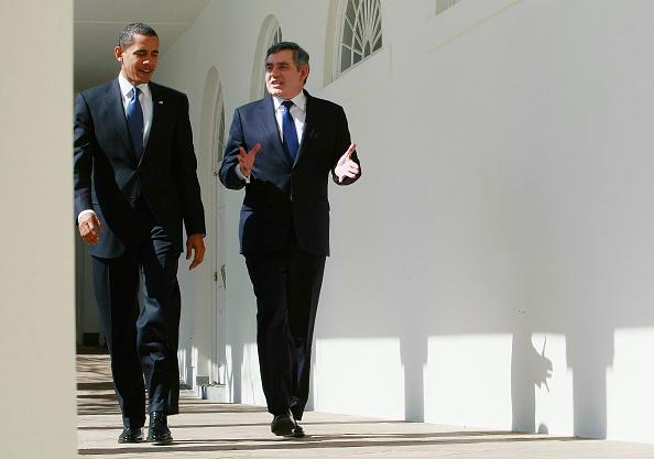 Architectural Feature「Gordon Brown And Barack Obama Hold Talks In Washington」:写真・画像(18)[壁紙.com]