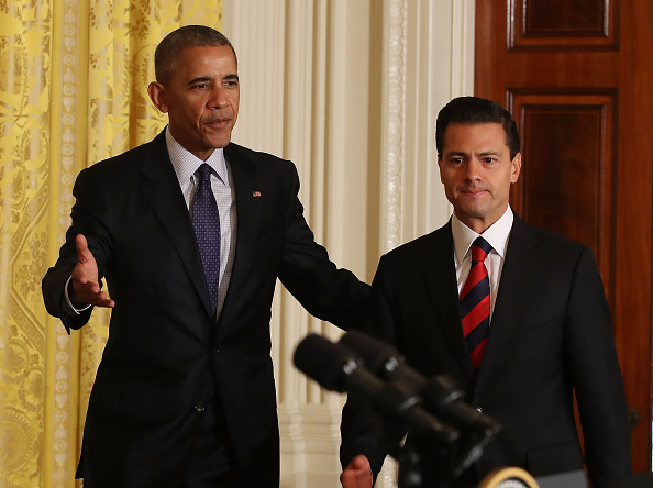 President of Mexico「President Obama Holds News Conference With Mexican President Enrique Pena Nieto」:写真・画像(11)[壁紙.com]