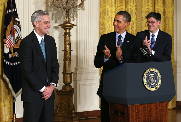 Alex Wong「President Obama Names Denis McDonough To Be White House Chief Of Staff」:写真・画像(7)[壁紙.com]