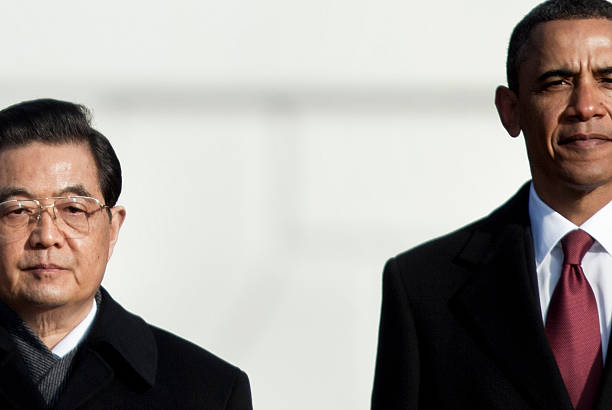 Obama Hosts Chinese President Hu Jintao For State Visit At White House:ニュース(壁紙.com)