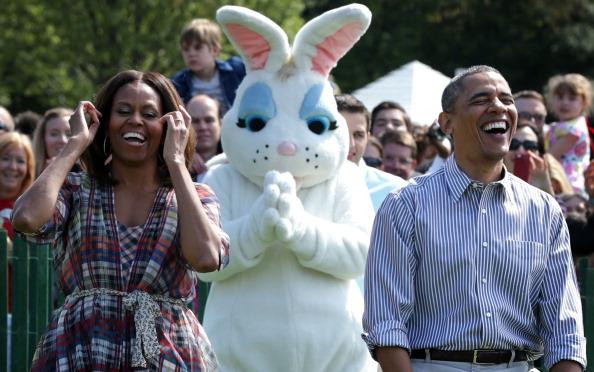 USA「President And Mrs Obama Host Annual White House Easter Egg Roll」:写真・画像(2)[壁紙.com]