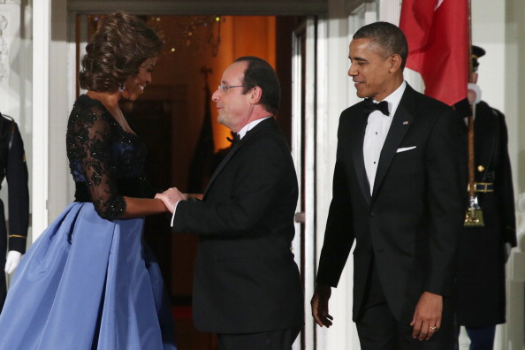 US First Lady「President Obama And First Lady Welcome French President  Hollande To The White House」:写真・画像(12)[壁紙.com]