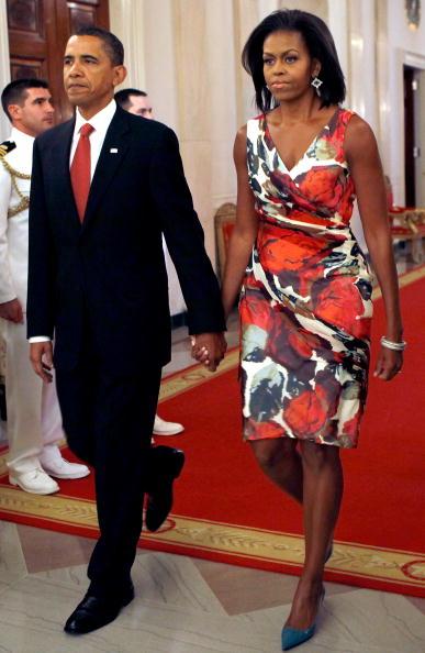 式典「Obama Awards Medal Of Honor Posthumously To Soldier Killed In Afghanistan」:写真・画像(7)[壁紙.com]