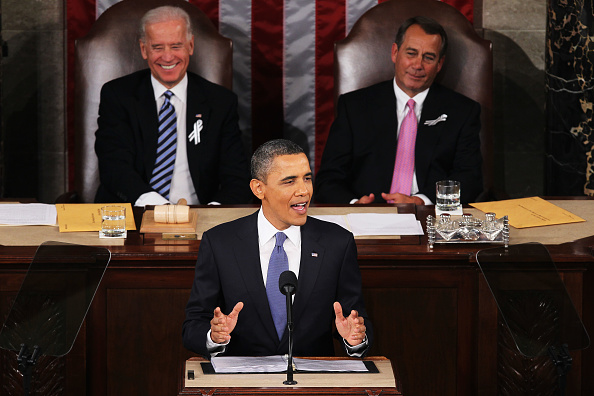 Alex Wong「Obama Delivers State Of The Union Address To Joint Session Of Congress」:写真・画像(8)[壁紙.com]