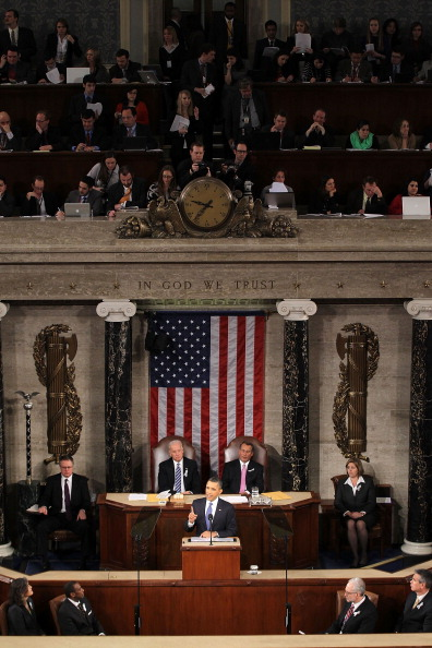 Alex Wong「Obama Delivers State Of The Union Address To Joint Session Of Congress」:写真・画像(5)[壁紙.com]