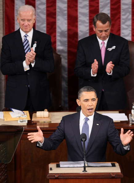 Alex Wong「Obama Delivers State Of The Union Address To Joint Session Of Congress」:写真・画像(2)[壁紙.com]