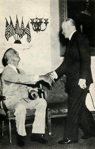 Franklin Roosevelt「President Benes Visits F D Roosevelt In 1942」:写真・画像(12)[壁紙.com]