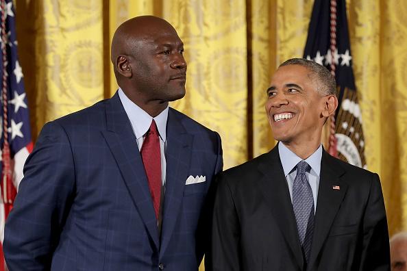 Michael Jordan「Obama Honors 21 Americans With Presidential Medal Of Freedom」:写真・画像(12)[壁紙.com]