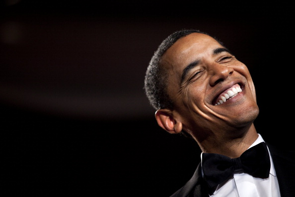 笑顔「President Obama Speaks At National Italian American Foundation Gala」:写真・画像(2)[壁紙.com]