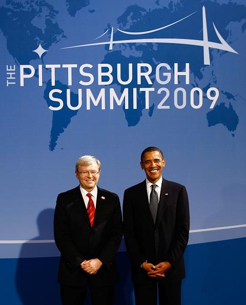 上半身「World Leaders Gather For G20 Summit In Pittsburgh」:写真・画像(10)[壁紙.com]