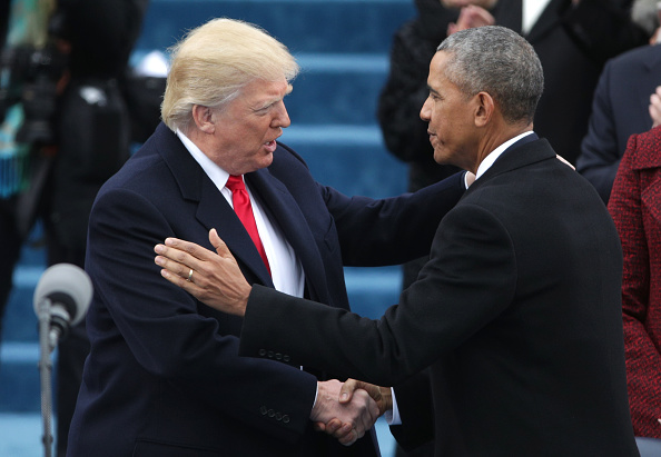 Greeting「Donald Trump Is Sworn In As 45th President Of The United States」:写真・画像(15)[壁紙.com]