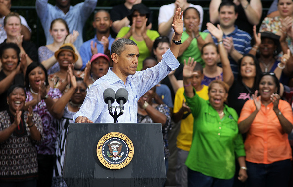 Middle Class「Obama Discusses Economy On Two-Day Campaign Swing Through Virginia」:写真・画像(10)[壁紙.com]