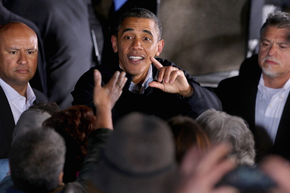 Oregon - US State「President Obama Continues His Push Through Key Swing States In Final Days Before Election」:写真・画像(14)[壁紙.com]