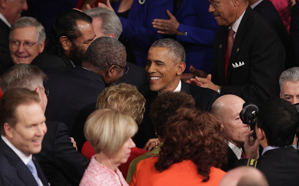 Alex Wong「President Obama Delivers State Of The Union Address」:写真・画像(18)[壁紙.com]