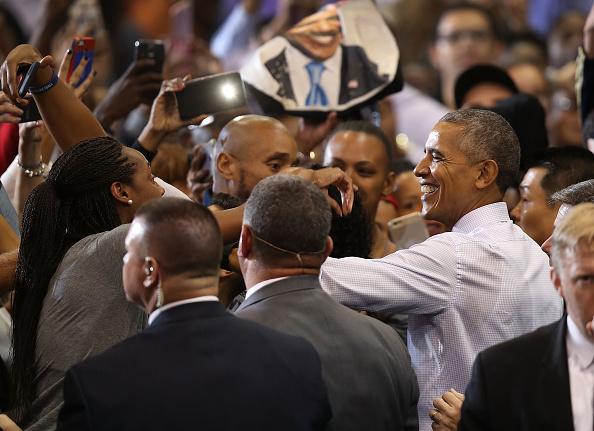 Florida International University「President Obama Attends Early Voting Rally In Miami」:写真・画像(19)[壁紙.com]