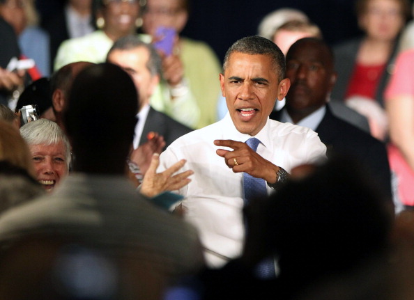 Florida - US State「Obama Delivers Remarks In West Palm Beach As Part Of 2-Day FL Campaign Swing」:写真・画像(14)[壁紙.com]