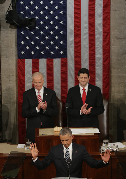 Gratitude「President Obama Delivers His Last State Of The Union Address To Joint Session Of Congress」:写真・画像(12)[壁紙.com]