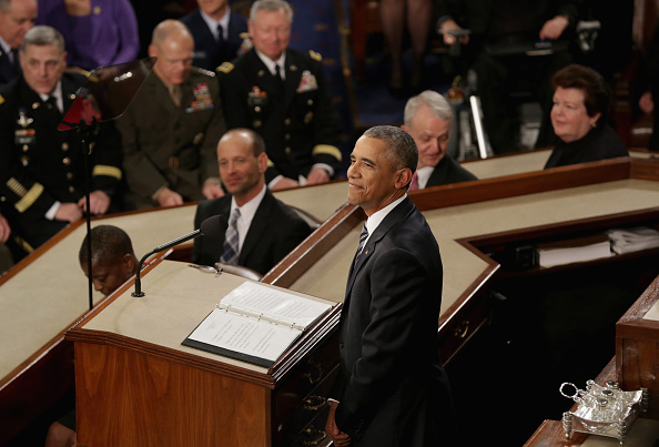 Gratitude「President Obama Delivers His Last State Of The Union Address To Joint Session Of Congress」:写真・画像(9)[壁紙.com]