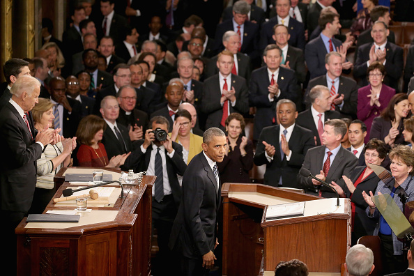 Gratitude「President Obama Delivers His Last State Of The Union Address To Joint Session Of Congress」:写真・画像(10)[壁紙.com]