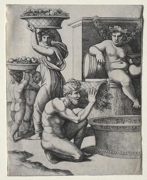 30-34 Years「The Wine Press. Creator: Marcantonio Raimondi (Italian」:写真・画像(5)[壁紙.com]