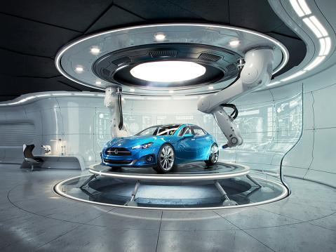 Garage「Futurelab generic car」:スマホ壁紙(17)