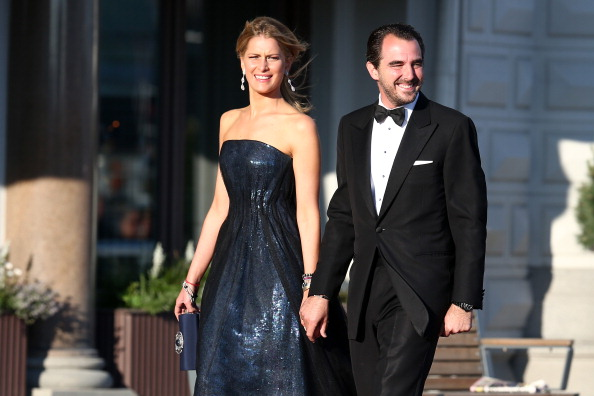 Prince Nikolaos「King Carl XVI Gustaf & Queen Silvia Of Sweden Host A Private Dinner Ahead Of The Wedding Of Princess Madeleine & Christopher O'Neill - Outside Arrivals」:写真・画像(1)[壁紙.com]