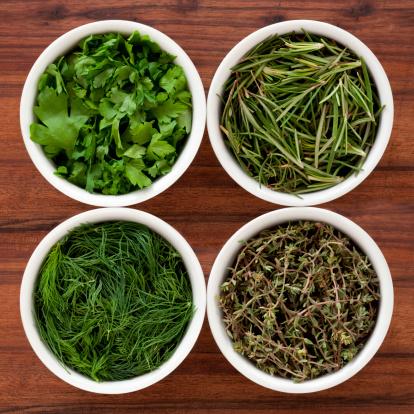 Side By Side「Fresh herbs」:スマホ壁紙(14)