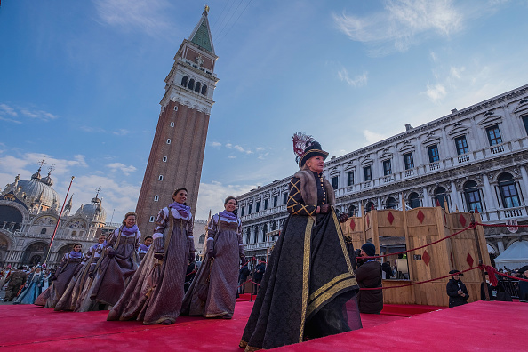 Venice Carnival「Flight of the Angel (Il Volo Dell'Angelo) - Venice Carnival 2018」:写真・画像(19)[壁紙.com]