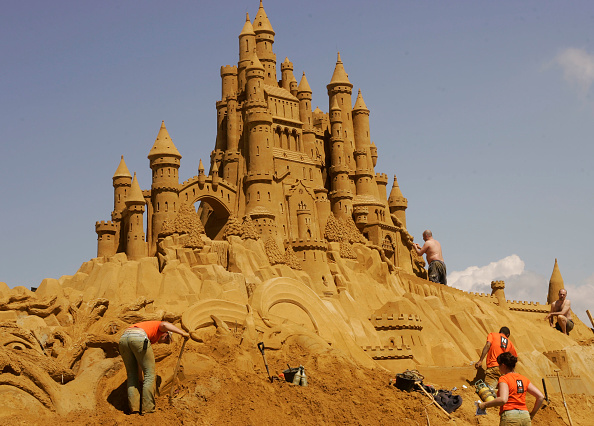 Sand Sculpture「Annual Sea Sculpture Festival」:写真・画像(12)[壁紙.com]
