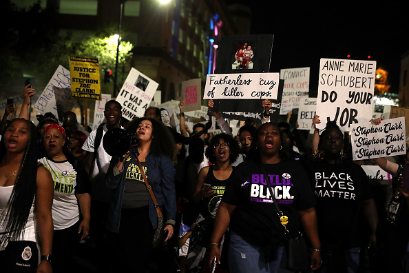 Social Movement「Protestors Rally After Police Shooting Victim Stephon Clark's Autopsy Released」:写真・画像(1)[壁紙.com]